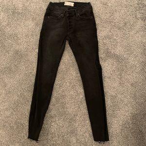 NWOT Free People Skinny Jeans (Black) 🖤